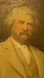 Mark Twain (Samel Clemens), som visstnok var riktig rødhåret før han ble eldre.