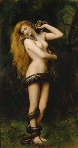 «Lilith» av John Collier, 1892. Kilde: Wikipedia