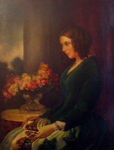 Portrett av Cathrine Hogarth av Daniel Maclise, 1847. Kilde: Wikimedia Commons/