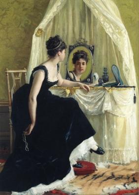 «Forfengelighet». Gustave Léonard de Jonghe, 19. århundre. Kilde: Wikimedia Commons