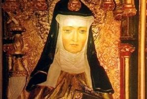 Den hellige Hildegard av Bingen. Kilde: Wikimedia Commons