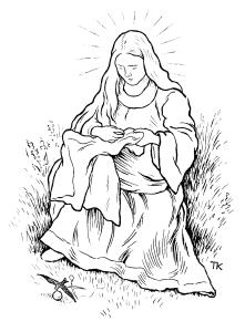 Kittelesen. Fra Asbjørnsen og Moes samlede eventyr, 1936. Kilde: Wikimedia commons